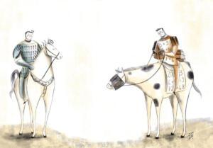 Il cavaliere delle buone maniere e dello studio