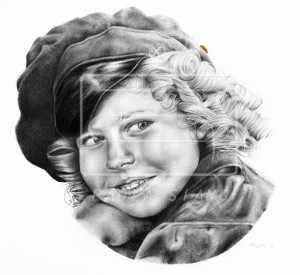 Ritratto di Shirley Temple